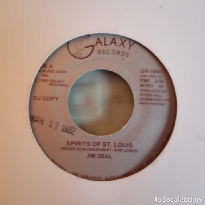 Discos de vinilo: JIM SEAL SPIRITS OF ST. LOUIS COUNTRY PROMO ORIGINAL USA 1982 RARO VG+ - Foto 2 - 158419954