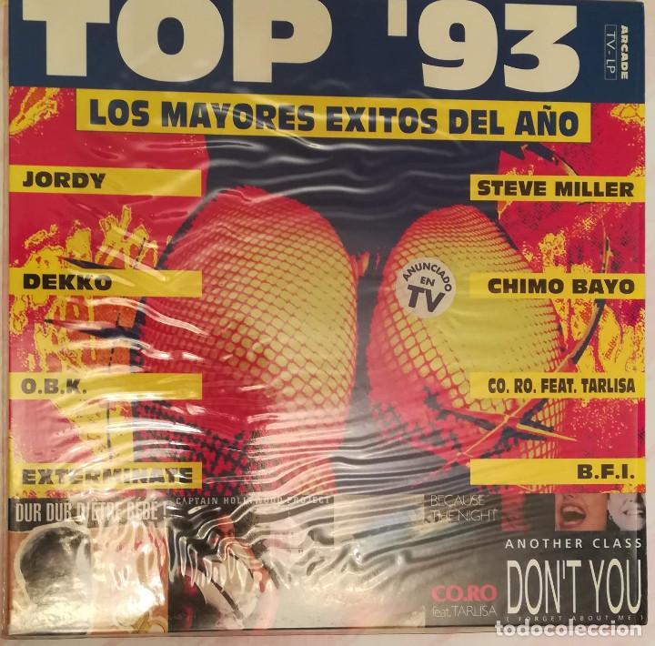 TOP ´93 - LOS MAYORES EXITOS DEL AÑO - 1993 ARCADE (Música - Discos - LP Vinilo - Techno, Trance y House)