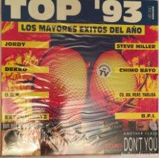 Discos de vinilo: TOP ´93 - LOS MAYORES EXITOS DEL AÑO - 1993 ARCADE. Lote 158421230