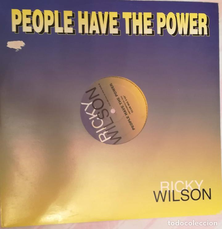 RICKY WILSON - PEOPLE HAVE THE POWER - 1993 DISC MAGIC (Música - Discos - LP Vinilo - Techno, Trance y House)