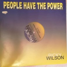 Discos de vinilo: RICKY WILSON - PEOPLE HAVE THE POWER - 1993 DISC MAGIC. Lote 158421558