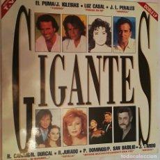 Discos de vinilo: GIGANTES - DOBLE LP VARIOS ARTISTAS 1992 SONY MUSIC. Lote 158425310