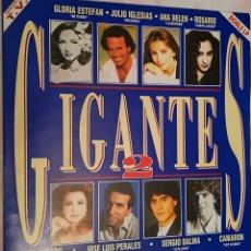 Discos de vinilo: GIGANTES 2 - DOBLE LP VARIOS ARTISTAS 1993 SONY MUSIC. Lote 158425586