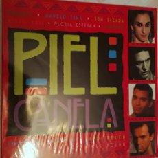 Discos de vinilo: PIEL CANELA - VARIOS ARTISTAS - DOBLE LP - 1993 EPIC- SONY MUSIC. Lote 158426030