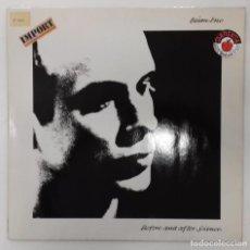 Discos de vinilo: BRIAN ENO - BEFORE AND AFTER SCIENCE LP ED ALEMANA 1977. . Lote 158427198
