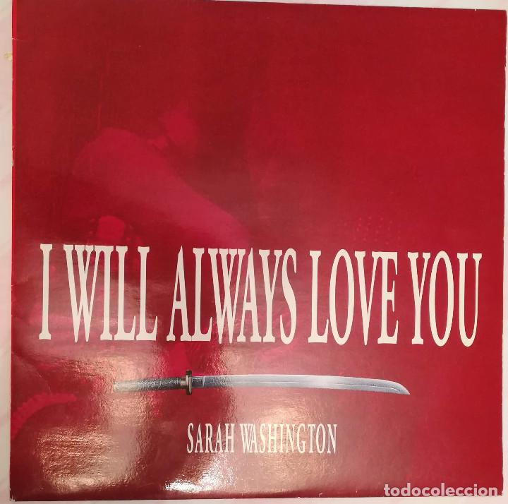 SARAH WASHINGTON - I WILL ALWAYS LOVE YOU - 1993 MAX (Música - Discos - LP Vinilo - Pop - Rock Extranjero de los 90 a la actualidad)