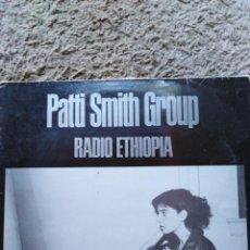 Dischi in vinile: PATTI SMITH GROUP-RADIO ETHIOPIA-ORIGINAL ESPAÑOL. Lote 158429646