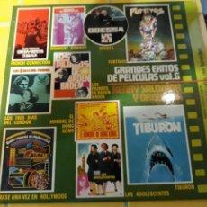 Discos de vinilo: LP GRANDES ÉXITOS DE PELÍCULAS VOL.6- BELTER 1978 ESPAÑA 8. Lote 158430593