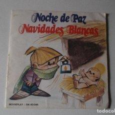 Discos de vinilo: ESCOLANÍA DEL COLEGIO DE SAN ANTONIO DE MADRID - NOCHE DE PAZ - NAVIDADES BLANCAS. Lote 158453898