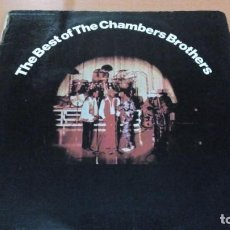 Discos de vinilo: THE CHAMBERS BROTHERS THE BEST OF 2XLPS GATEFOLD. Lote 158459654