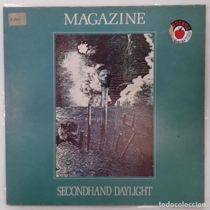 MAGAZINE - SECONHAND DAYLIGHT LP REISSUE GATEFOLD ED. ESPAÑOLA 1980 (Música - Discos - LP Vinilo - Pop - Rock - New Wave Extranjero de los 80)