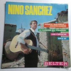 Discos de vinilo: NINO SÁNCHEZ – LOS FARISEOS SELLO: BELTER – 51.853 FORMATO VINYL, 7 45 RPM EP PAÍS: SPAIN . Lote 158468398