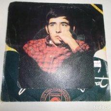 Discos de vinilo: JOAN MANUEL SERRAT / EUROVISION 1968 / LA,LA,LA, / MIS GAVIOTAS / NOVOLA. Lote 158501942