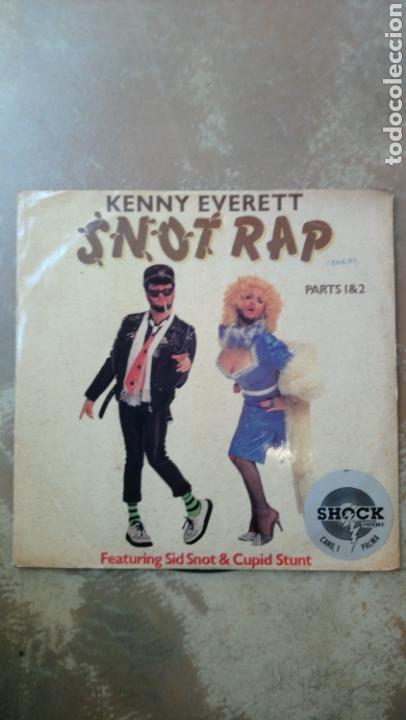 KENNY EVERETT–SNOT RAP - MAXI 45 RPM (Música - Discos de Vinilo - Maxi Singles - Rap / Hip Hop)
