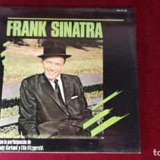 Discos de vinilo: ZAFIRO - DISCO VINILO - FRANK SINATRA - LP STEREO ESPAÑA 1985. Lote 158517114