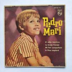 Discos de vinilo: PEDRO MARI - EL NIÑO TRAVIESO - (SE VENDE SOLO LA PORTADA SIN VINILO EN SU INTERIOR). Lote 158552678