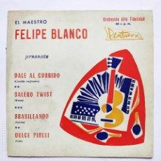Discos de vinilo: FELIPE BLANCO - DALE AL CORRIDO - (SE VENDE SOLO LA PORTADA SIN VINILO EN SU INTERIOR). Lote 158552886