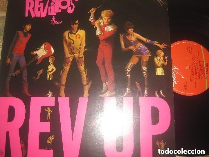THE REVILLOS - REV UP -(VIRGIN 1980 -) EDITADO LONDON EXCELENTE CONDICION LEA DESCRIPCION (Música - Discos de Vinilo - EPs - Pop - Rock Extranjero de los 70)