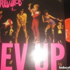 Discos de vinilo: THE REVILLOS - REV UP -(VIRGIN 1980 -) EDITADO LONDON EXCELENTE CONDICION LEA DESCRIPCION. Lote 158553298