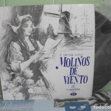 Discos de vinilo: LP. MOLINOS DE VIENTO. P.FRUTOS - LUNA. COLUMBIA. 1971 COMO NUEVO¡¡ PEPETO. Lote 158554382