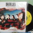 Discos de vinilo: LOS REBELDES TU MANO EN MANO SINGLE SPAIN 1991 PDELUXE. Lote 158562298