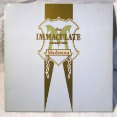 Discos de vinilo: DOBLE LP MADONNA THE IMMACULATE COLLECTION MADE IN GERMANY. Lote 158566410