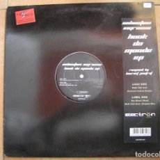 Discos de vinilo: SEBASTIAN INGROSSO – HOOK DA MOODE EP - ELECTRON RECORDS 2004 - MAXI - PLS. Lote 158570526