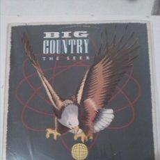 Discos de vinilo: BIG COUNTRY THE SEER. Lote 158572718