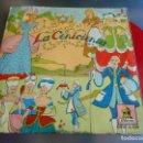 Discos de vinilo: LA CENICIENTA, EP, CUENTO INFANTIL + 1, AÑO 1959. Lote 158576162