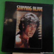 Discos de vinilo: LP VARIOUS – STAYING ALIVE (THE ORIGINAL MOTION PICTURE SOUNDTRACK ) . Lote 158582302
