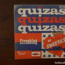 Discos de vinilo: SWEETIES ?– QUIZAS, QUIZAS, QUIZAS SELLO: MARFER ?– MV.20329-S FORMATO: VINYL, 7 , SINGLE . Lote 158587818