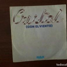 Discos de vinilo: CRISTAL – CON EL VIENTO SELLO: RCA VICTOR ?– SPBO-2464 FORMATO: VINYL, 7 , 45 RPM, SINGLE . Lote 158588418