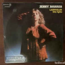 Discos de vinilo: JENNY DARREN ?– LADYKILLER / CITY LIGHTS SELLO: DJM RECORDS (2) ?– DJO-616 FORMATO: VINYL, 7 . Lote 158589402