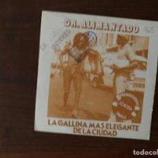 Discos de vinilo: DR. ALIMANTADO ?– LA GALLINA MÁS ELEGANTE DE LA CIUDAD SELLO: ISDA RECORDS ?– 03-0063, EDIGSA ? . Lote 158592318