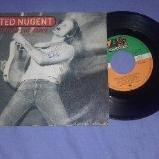 Discos de vinilo: TED NUGENT-ATADO POR AMOR. Lote 158594002