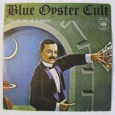 Disques de vinyle: BLUE OYSTER CULT (NO TEMAS) AL VIOLADOR + VAMPIRO TATUADO 1976. Lote 158601022