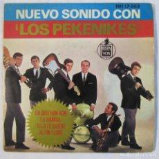 Discos de vinilo: NUEVO SONIDO CON LOS PEKENIKES DA DOU RON RON, LA BAMBA 1963. Lote 158601230