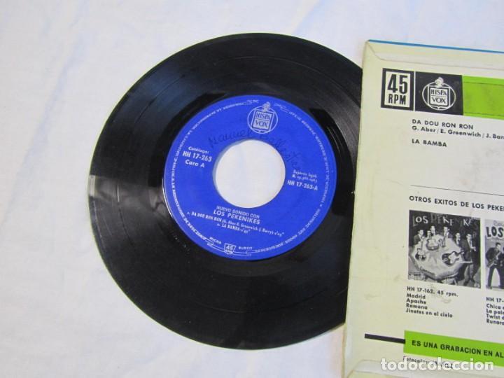 Discos de vinilo: Nuevo sonido con Los Pekenikes Da Dou Ron Ron, La Bamba 1963 - Foto 3 - 158601230