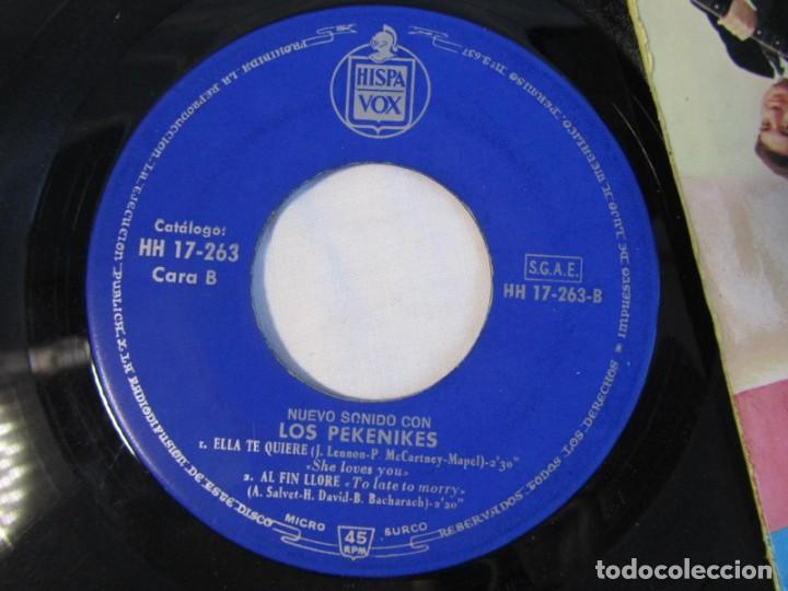 Discos de vinilo: Nuevo sonido con Los Pekenikes Da Dou Ron Ron, La Bamba 1963 - Foto 5 - 158601230