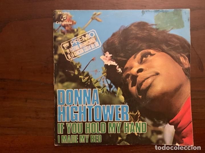 DONNA HIGHTOWER ?– IF YOU HOLD MY HAND SELLO: COLUMBIA ?– MO 1093 FORMATO: VINYL, 7 , 45 RPM, SINGLE (Música - Discos - Singles Vinilo - Funk, Soul y Black Music)