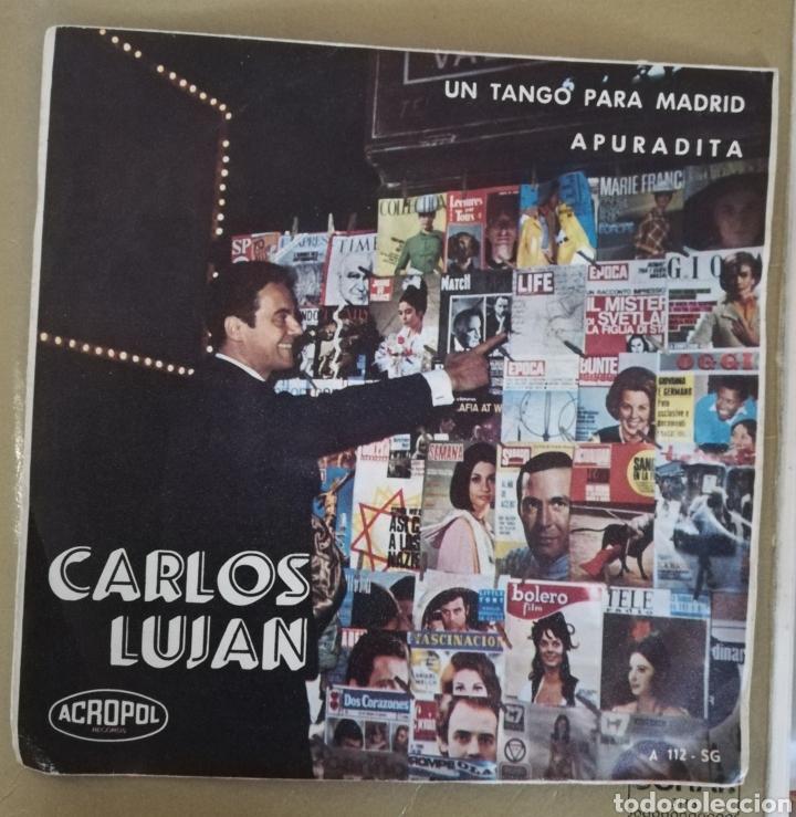 CARLOS LUJÁN - UN TANGO PARA MADRID (Música - Discos - Singles Vinilo - Grupos y Solistas de latinoamérica)