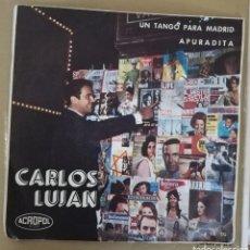 Discos de vinilo: CARLOS LUJÁN - UN TANGO PARA MADRID. Lote 158616940