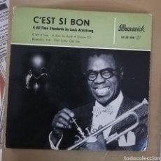 Discos de vinilo: LOUIS ARMSTRONG - C'EST SI BON. Lote 158646821
