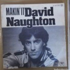 Discos de vinilo: DAVID NAUGHTON - MAKIN' IT. Lote 158648790