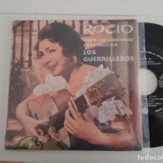Discos de vinilo: ROCIO-EP DE LOS GUERRILLEROS. Lote 158651634