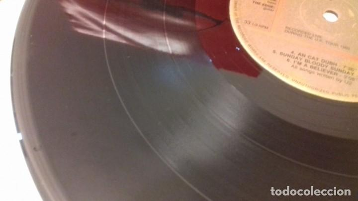Discos de vinilo: U2 1982 U.K. TOUR RARA EDICIÓN ITALIANA 1991 NO OFICIAL - Foto 3 - 161064585