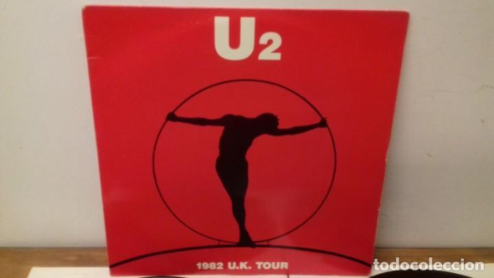 Discos de vinilo: U2 1982 U.K. TOUR RARA EDICIÓN ITALIANA 1991 NO OFICIAL - Foto 4 - 161064585