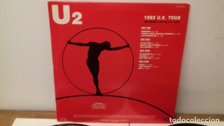 Discos de vinilo: U2 1982 U.K. TOUR RARA EDICIÓN ITALIANA 1991 NO OFICIAL - Foto 6 - 161064585