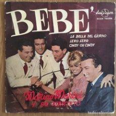 Discos de vinilo: MARINO MARINI Y SU CUARTETO BEBE EP ESPAÑA DURIUM. Lote 158656054