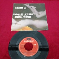 Discos de vinilo: TRANS-X. LIVING ON A VIDEO. Lote 158656186